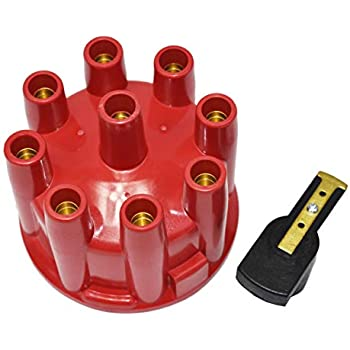 Rotor RED Ready-To-Run Pro Billet Replacement Distributor Cap