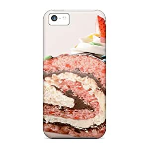 meilz aiaiNew Fashionable DeannaTodd LDG28314FSpW Covers Cases Specially Made For iphone 5/5s(chocolated Covered Strawberry Cake)meilz aiai