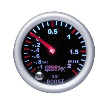 "Sumex Rflx701 - Manómetro Presión Turbo"" Mirror Look"" ..."
