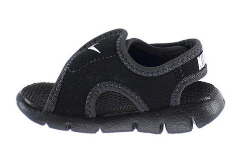 c16af92a6 Nike Sunray Adjust 4 (TD) Baby Toddlers Sandals Black White ...