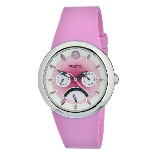 Philip Stein Women's F43S-SD-P Quartz Pink Dial Stainless Steel Watch