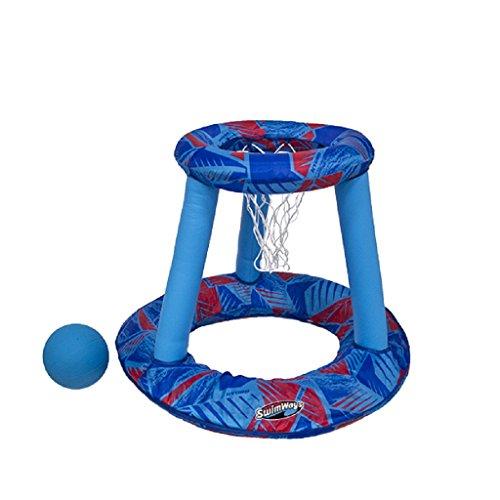 SwimWays Hydro Panier de Basket Mixte Enfant, Bleu