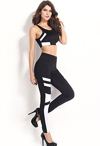 Pinkyee - Pantalón - para mujer Pattern Color