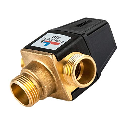 Flameer Brass Automatic Thermostatic Mixing Blending Valve Water Heater Shower Valve - DN20 Male by Flameer (Image #6)