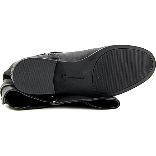 Calf wc Leather Toe Ameliee International Mid Wide INC Black Concepts Closed Womens smooth Cqpgxwf