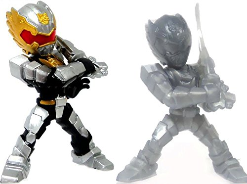 Power Rangers Megaforce MINI Battle-ready figures Series 1 Set : Robo Knight & Silver Robo Knight