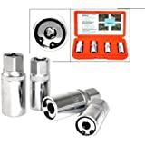 4 pc Metric Stud Puller Wrench Remover Socket Set by Sockets