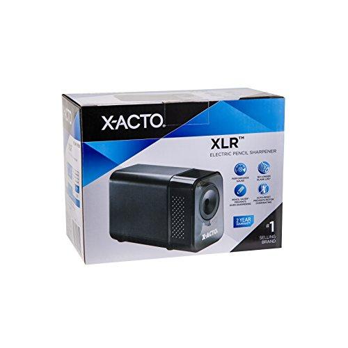 XACTO XLR Electric Pencil Sharpener Black Import It All