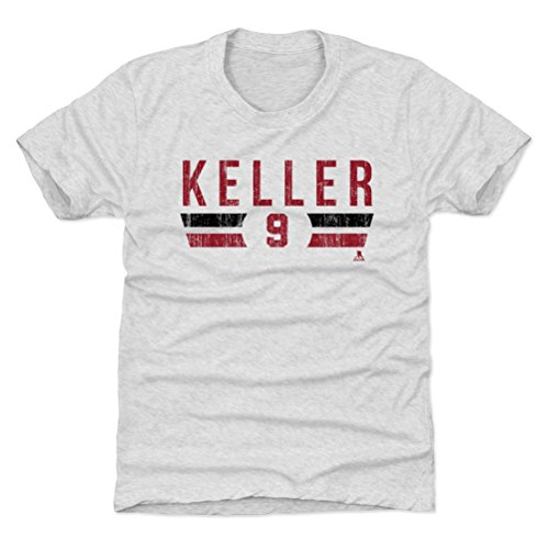 - 500 LEVEL Arizona Hockey Youth Shirt - Kids Medium (8Y) Tri Ash - Clayton Keller Arizona Font R