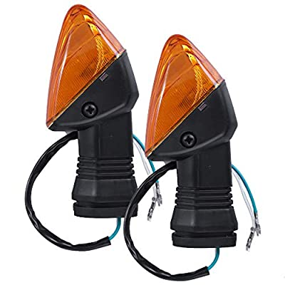 Zreneyfex Front Rear Turn Signal Indicator Lamp Fits Kawasaki ZX-6R ZX-6RR KLE500 KLE 650 KLR650 Z750S: Automotive
