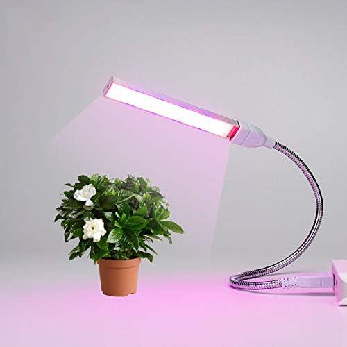 USB Led Plant Grow Light DC5V Full Spectrum for Indoor Plants Flexible Holder