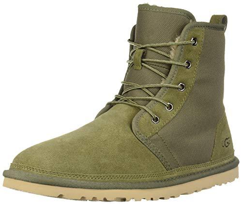 UGG Men's HARKLEY Chukka Boot, moss green, 11 Medium US (Green Men Uggs)