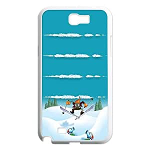 Snow Zombies Ski Samsung Galaxy N2 7100 Cell Phone Case White&Phone Accessory STC_112650