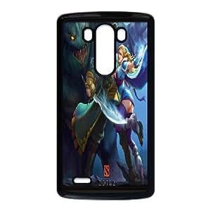 LG G3 Phone Case Black dota 2 WQ5RT7506416