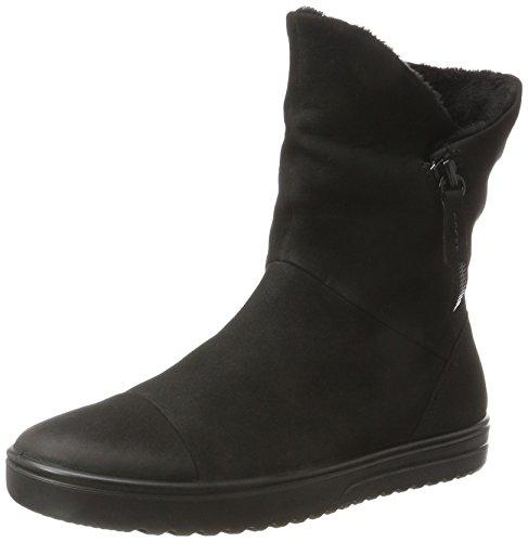 Womens Fara Boots Nubuck Ecco Black wUq1YH7