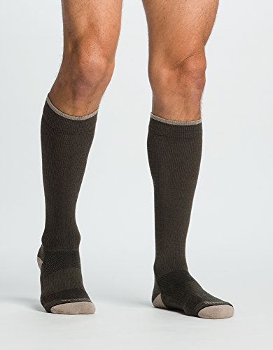 Price comparison product image SIGVARIS MERINO WELLBEING Calf High Compression Socks 15-20mmHg