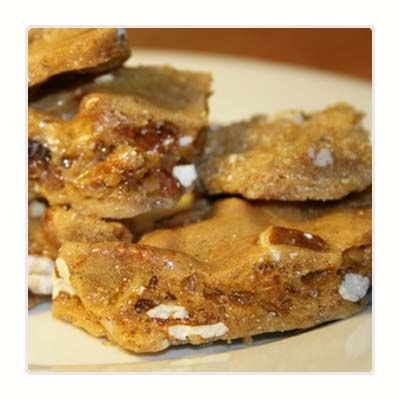UPC 837654129784, Pecan Pie Brittle (8 oz Bag) made with fresh Pecans. The holiday flavor of Pecan Pie in a crunchy brittle!