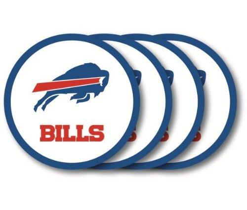 - Buffalo Bills Coaster Set - 4 Pack
