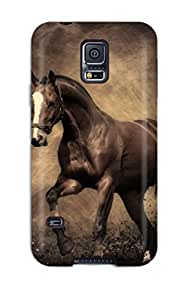 New Horse Tpu Cover Case For Galaxy S5