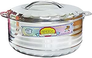 Imperial Stainless Steel Hotpot 10000ml - Silver [LSSIHP10000]