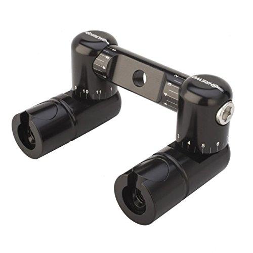 Shrewd Fully Adjustable Double Sided Disconnect V-Bar Kit, Black