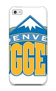 High Grade DanRobertse Flexible Tpu Case For Iphone 5c - Denver Nuggets Nba Basketball (31)