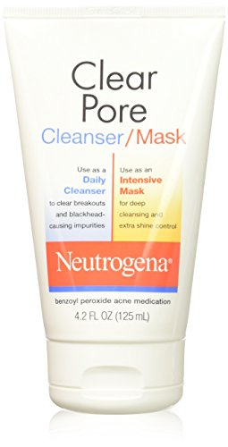 Neutrogena Clear Pore Facial Cleanser/Mask, 4.2 Fl. Oz.