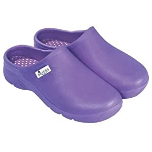 Briers Lightweight, Comfortable Garden Clogs: Lavender, Size 6