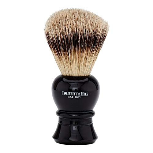 - Truefitt & Hill Regency Super Badger Shave Brush - # Ebony -