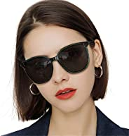 LVIOE Cat Eyes Sunglasses for Women, Polarized Oversized Vintage Eyewear
