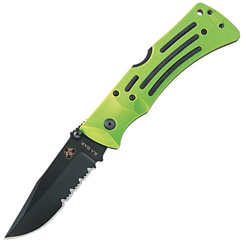 Ka-Bar Zombie Mule Serrated Edge Folder Knife