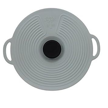 Zeal hermético Push a 11, diseño Classic Pot Tapa Tapa de cocina ...