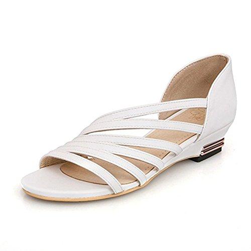 Gloria JR - Sandalias para mujer Weiß(White)