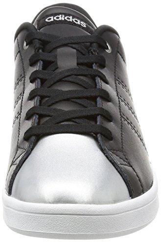 adidas Advantage Clean Qt W Basket Basses Femme Noir Negbas negbas