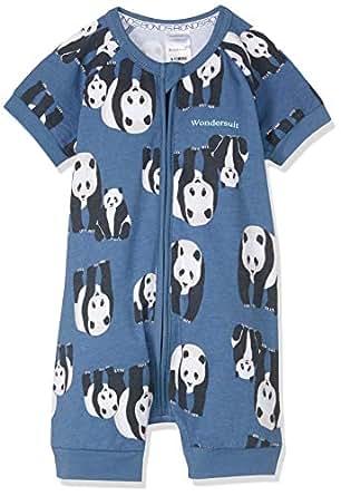 Bonds Baby Zippy - Zip Romper Wondersuit, Panda Parade Space X, 0 (6-12 Months)