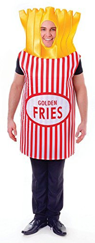 Adults French Fries Costume