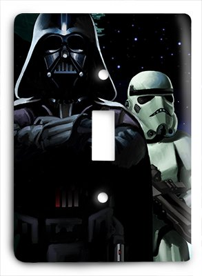 Villains Single - Star Wars Darth Vader Villains v Single Light Switch Cover