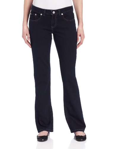 Dickies Fd138 Damen Relaxed Bootcut Jean, 2, Stonewashed Overdyed Black