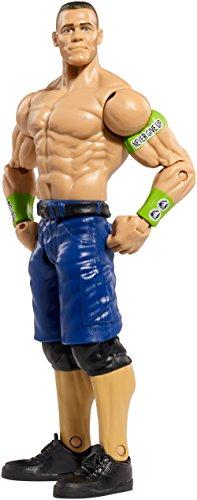 WWE Basic Figure Series John Cena (Wwe John Cena Red Action Figures)