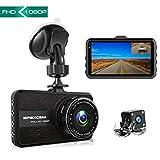[New Model] Apexcam Dash Cam 1080P FHD Car Dash Camera 3'' IPS Dual