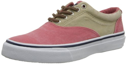 Sperry Top-Sider Herren Striper LL CVO Fashion Sneaker Rot / Chino