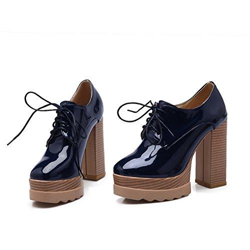 Zapatos Para 1to9 Vestir Mujer Azul De TKrzfzwdq