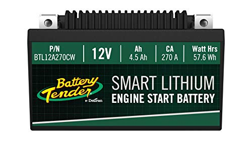 (Supersmart BMS Lithium Battery, 12V 4.5AH, 270CCA)