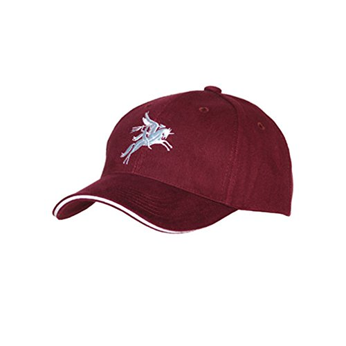 Britain Horse - British Airborne Forces BASEBALL CAP Paratrooper England Great Britain Army Bellerophon riding flying horse Pegasus