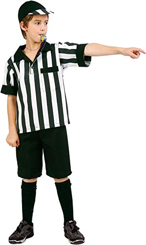 90457-S Pre Teen Referee Boy - Size 12-14 - PreTeen Small 12 to 14