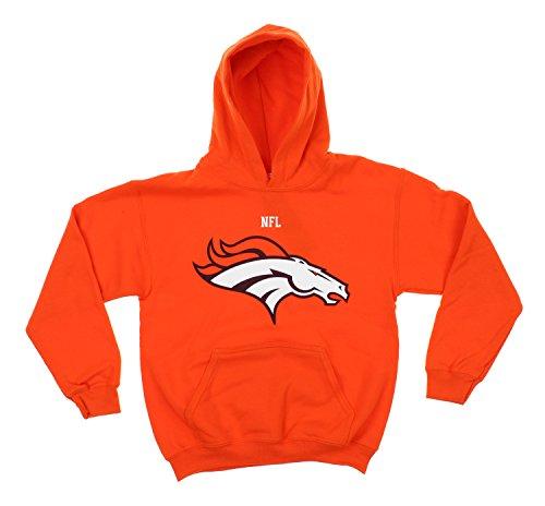 Reebok Football Sweatshirt - Reebok NFL Little Boys Toddlers Team Logo Pullover Hoodie, Denver Broncos