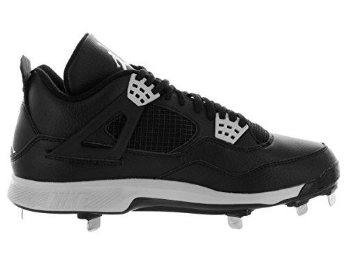 Nike Air Jordan Iv Retro Metal Herre Baseball-Sko 807710 010-sort Tech Grå JG1mj4BF79