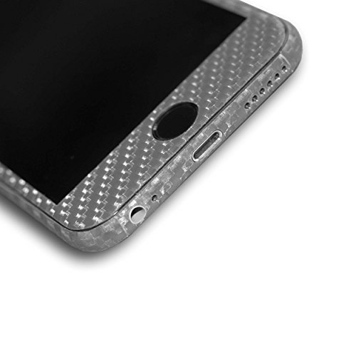 AppSkins Rückseite iPhone 6 Full Cover - Carbon grey
