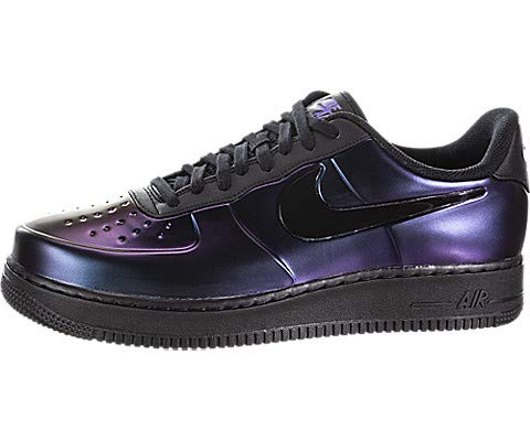 Nike Mens Air Force 1 Foamposite Pro Cup Sneaker  (Court Purple/Black, 10.5 M US) by Nike