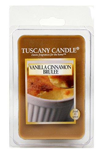 - Langley Empire Candle Fragrance Bars, 2.5-Ounce, Vanilla Cinnamon Brulee